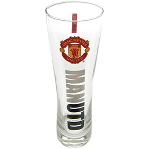 Manchester United Peroni Style Pint Glass