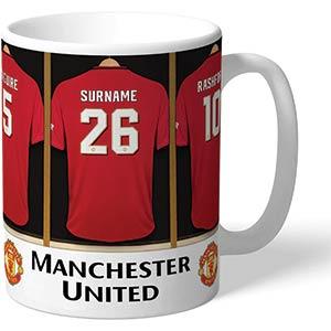 Personalised Manchester United Mug