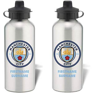 Manchester City Personalised Water Bottle