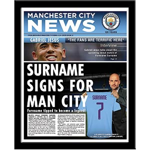 Personalised Manchester City FC News