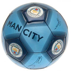 Manchester City Signature Football