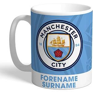 Personalised Manchester City Mug