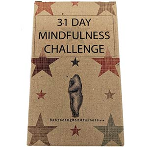 31 Day Mindfulness Challenge Cards