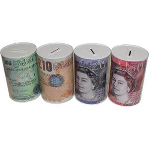 Money Tin Piggy Bank