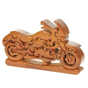 Classic Motorbike 3D Jigsaw Puzzle