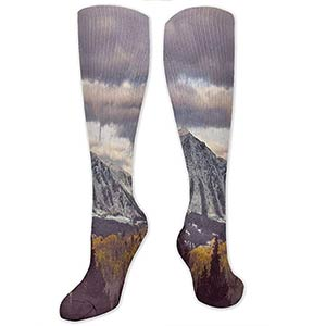 Snow-Capped Mountains Socks