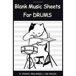 Blank Music Sheets For Drums