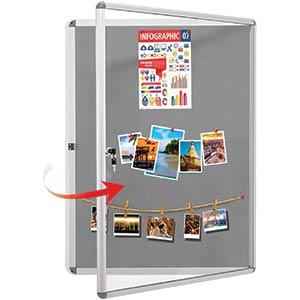Lockable Notice Boards Display
