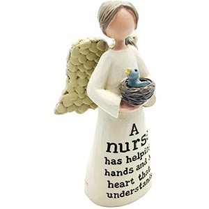 Nurse Angel Sentiment Ornament