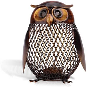 Owl Shaped Piggy Bank