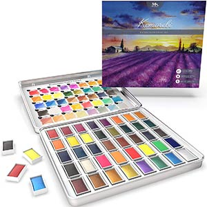 Premium Japanese Watercolour Set