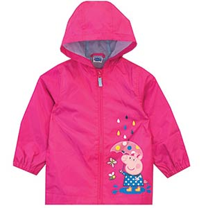 Peppa Pig Girls Raincoat