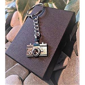 Silver Plated Camera Keyring