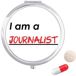 Journalist Travel Pocket Pill Case