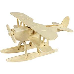 Seaplane DIY 3D Puzzle