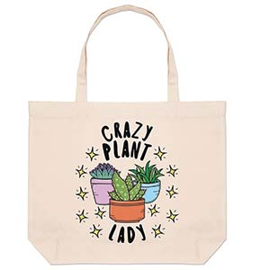 Crazy Plant Lady Bag