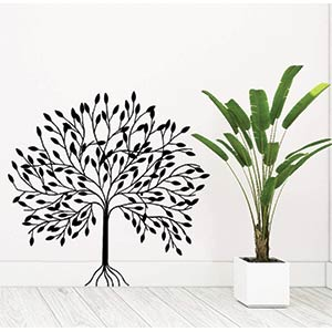 DIY Plant Wall Stickers