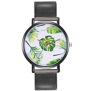Plant Leaf Quartz Watch