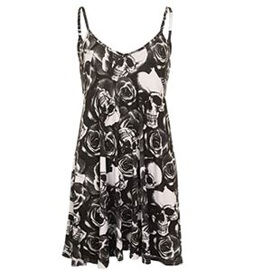 Sleeveless Ladies Mini Dress