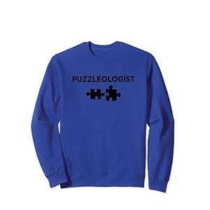 Funny Jigsaw Puzzle Sweatshirt