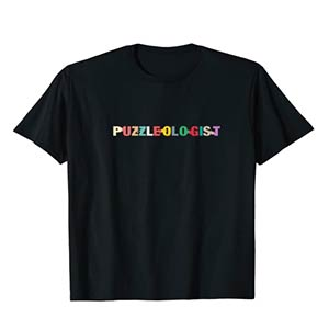 Jigsaw Puzzle Lover T Shirt