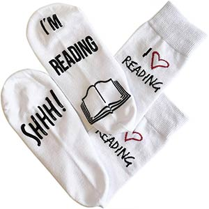 Ssh I'm Reading Socks