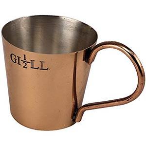 Naval Rum Measure - Half Gill