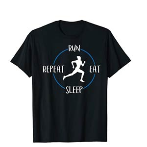 Run Eat Sleep Repeat T Shirt