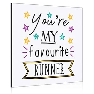 Favourite Runner Photo Frame