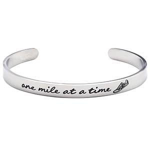 One Mile at A Time Bracelet