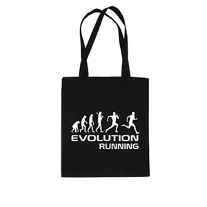 Evolution Running Tote Bag