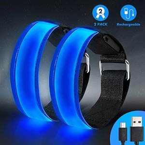 High Visibility Running Armband Light