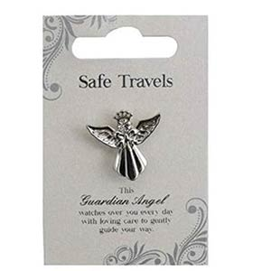 Guardian Angel Safe Travels Badge