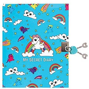 Unicorn Secret Lockable Journal Diary