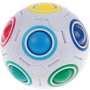 Stress Relief Rainbow Magic Ball