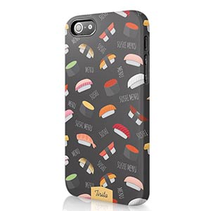 Sushi Pattern Phone Cover