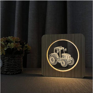 Tractor 3D Led Light