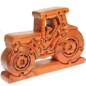 Namesakes Tractor Wooden 3D Puzzle
