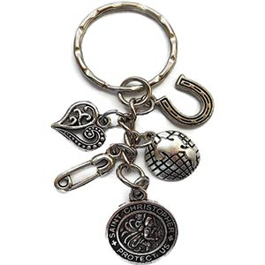 St. Christopher Travel Keyring