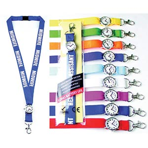 Personalised Lanyard with Integrated Watch