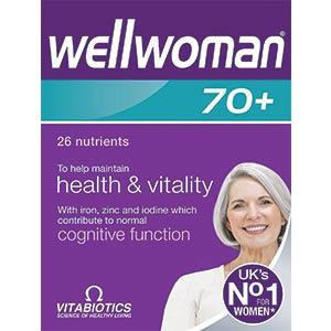 Vitabiotics Wellwoman 70+ Tablets