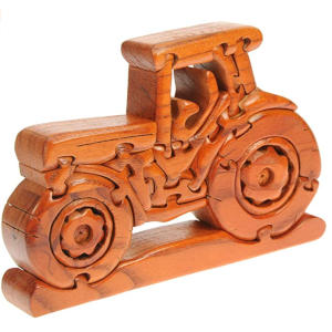 Wooden Tractor Jigsaw