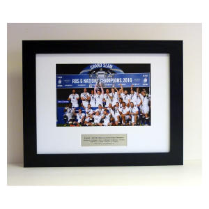 England - 2016 Grand Slam Framed Photo