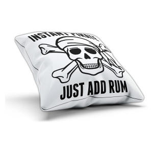 Funny Add Rum Cushion