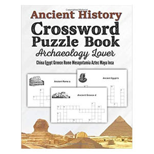 Ancient History Crossword Puzzle Book