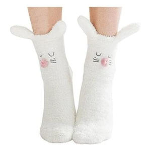 Rabbit Slipper Socks