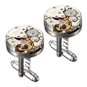Watch Movement Shape Cufflinks