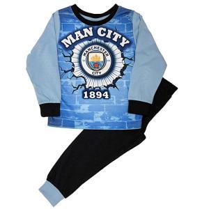Manchester City Boys Long Pyjamas