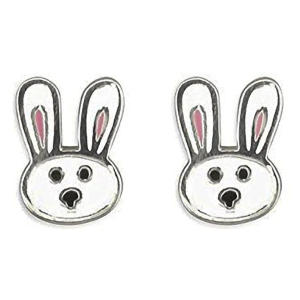 Rabbit Sterling Silver Earrings