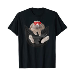 Bunny In Pocket T Shirt
